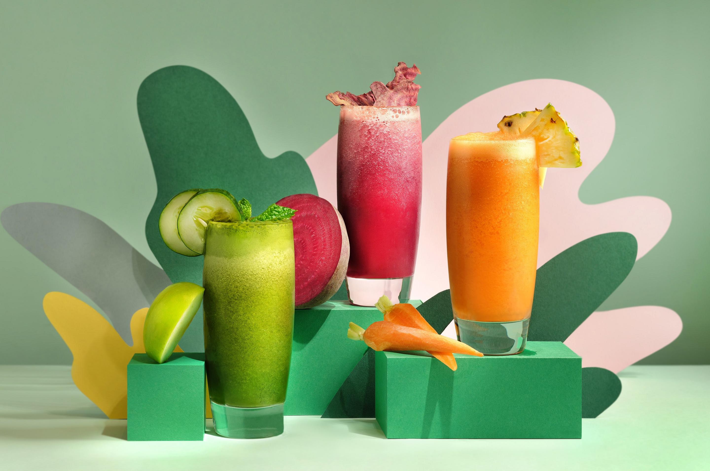 8. Fresh Mixed Juices